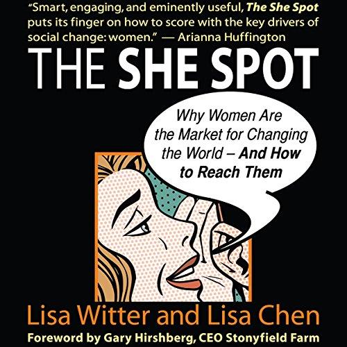 The She Spot audiobook cover art