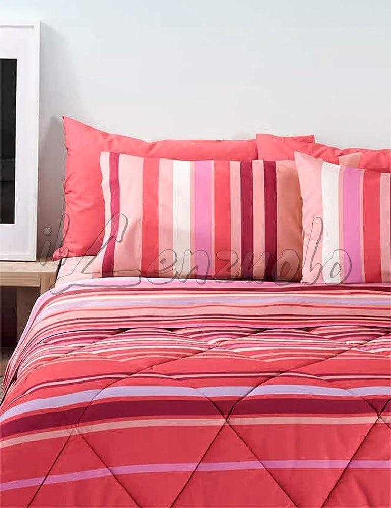 Bassetti,completo letto matrimoniale ,lenzuolo sopra,lenzuolo sotto,piu 2`federe,in puro cotone al 100 %