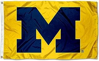 Michigan Wolverines Yellow Flag