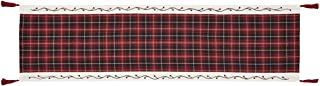 VHC Brands Christmas Holiday Tabletop & Kitchen - Seasons Greetings Red Runner, 13