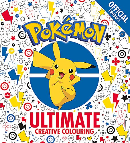 The Official Pokémon Ultimate Creative Colouring