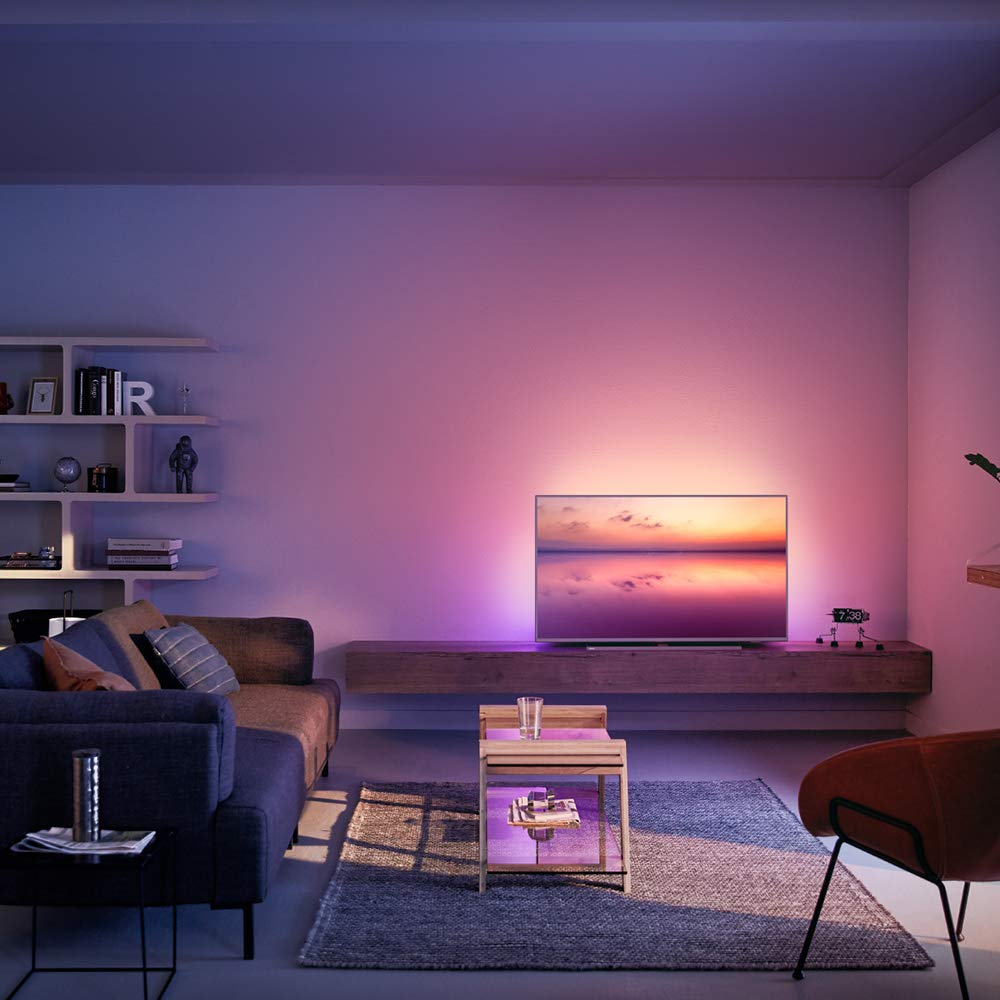 Philips 50PUS6814, Smart TV Alexa Ultra HD (Ambilight 3 Lados, HDR ...