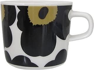 マリメッコ(marimekko) ウニッコ UNIKKO 63429-030 コーヒーカップ 200ml ブラック [並行輸入品]