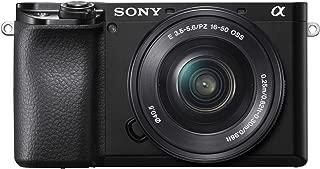 ソニー SONY ミラーレス一眼 α6100 パワーズームレンズキット E PZ 16-50mm F3.5-5.6 OSS ブラック ILCE-6100L B