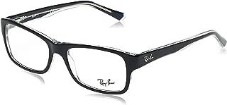 Ray-Ban 0rx5268 No Polarization Rectangular Prescription Eyewear