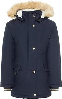 Bambine Giacca con cappuccio in pelliccia sintetica Parka SCUOLA Jane Cachi Giacche outwear Coat