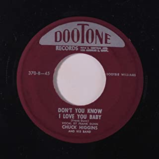 don`t you know i love you / wet back hop