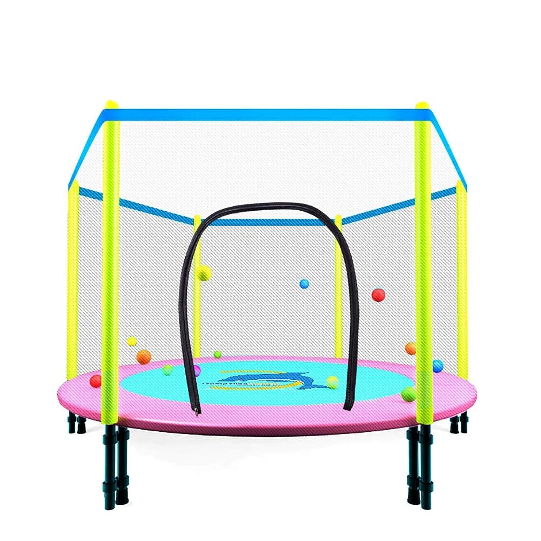 ZCJB 安全なエンクロージャが付いている48''miniの折り畳み式トランポリン - 子供のための屋外の適性Rebounder、最高負荷200kg