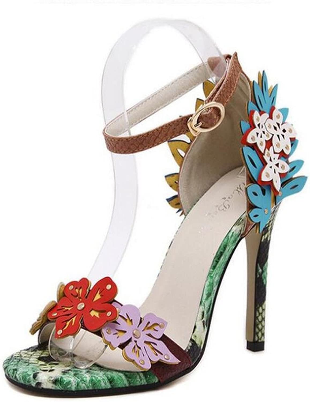 Frauen High Heels Luxus Serpentine Hollow Bequeme Wlbung Fine Dance Dress Schuhe