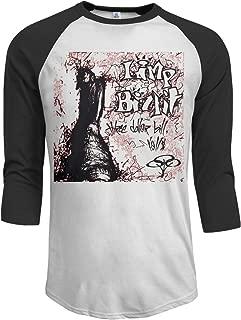 JeremiahR Limp Bizkit Three Dollar Bill Y'all $ Men's 3/4 Sleeve Raglan Baseball Tshirt Black