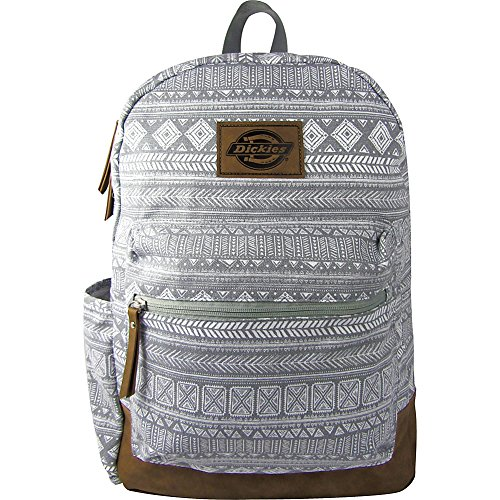 Dickies Unisex-Erwachsene Colton Canvas Bag Rucksack, Graues Tribal, Einheitsgröße