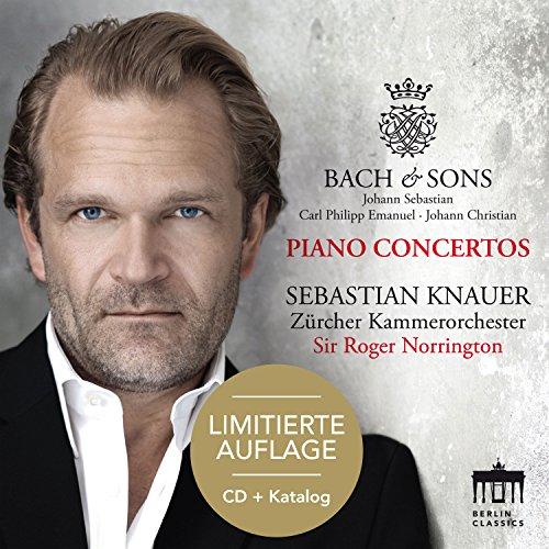 Bach & Sons-Piano Concertos - Limitierte Auflage: CD + Katalog