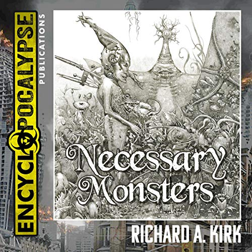 Necessary Monsters audiobook cover art