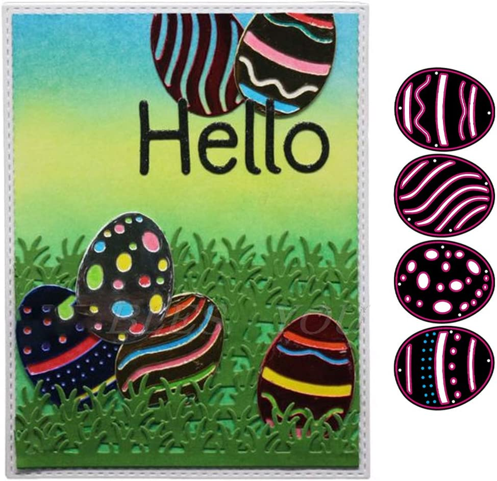 Ranking TOP18 Easter Bunny Egg Embossing Die Cutting Handic Set Paper Mold DIY Max 64% OFF