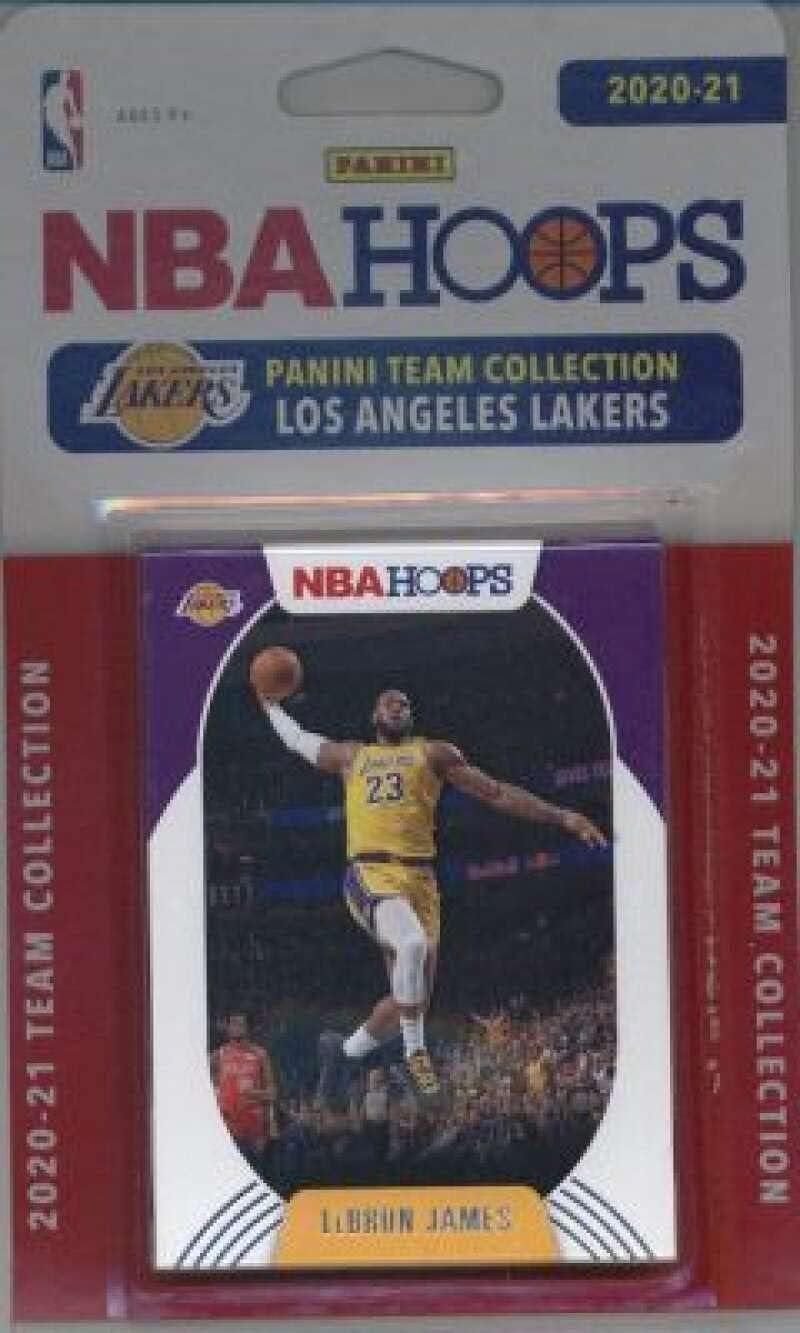 2020-21 Panini NBA Hoops Team Set Cards - Angeles Lakers Max 44% OFF Seasonal Wrap Introduction 8 Los