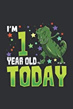 Today I'm 1 Year Old (Gratitude Journal): Dinosaur Gift Pack, Dinosaur Birthday Gift Bag