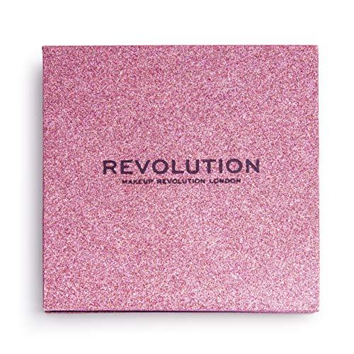 Revolution - Lidschattenpalette - Pressed Glitter Palette - Diva