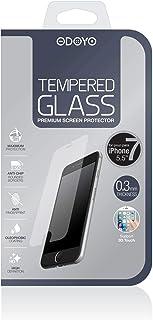 """شاشة حماية زجاجية من اوديو متوافقة مع الهواتف المحمولة - قياس 5.5"""""""""""
