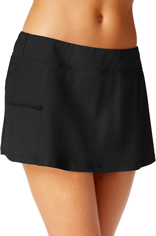 GO GOSSIP Go by Gossip Women's SideZip Swim Skirt