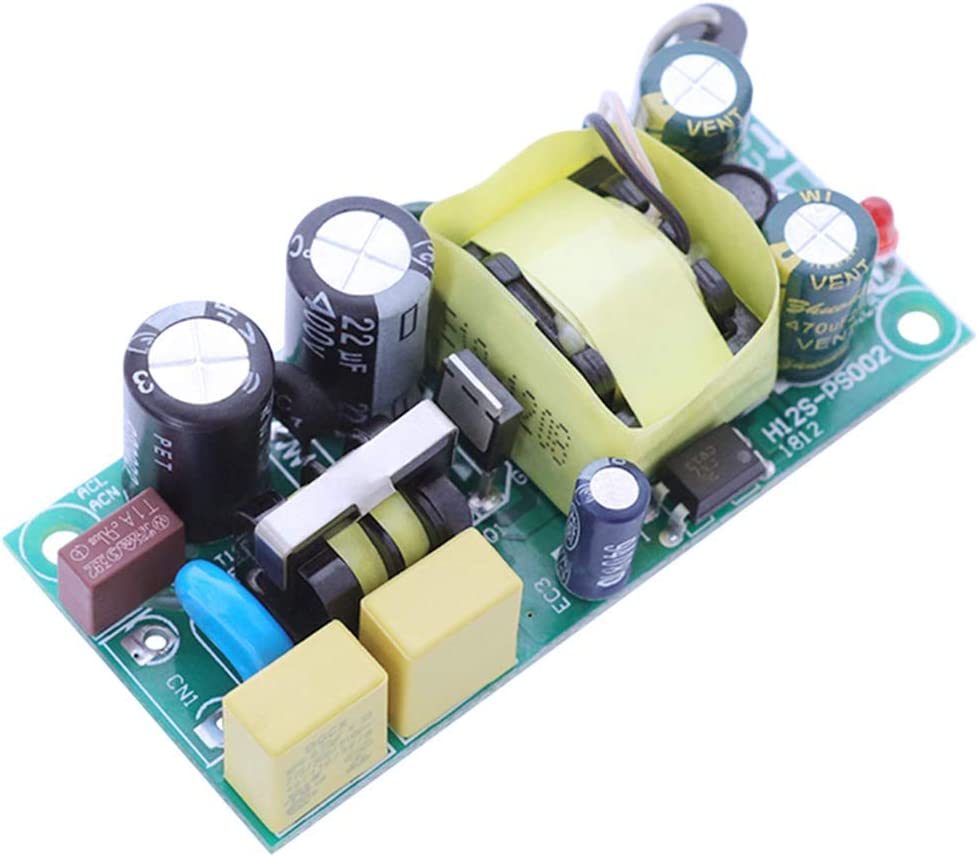 YF-CHEN Board 12V 800mA San Diego Mall Al sold out. 12W Power Supply Switchin Switching Mode