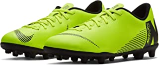 Official Brand Nike Mercurial Vapor Club Firm Ground Football Boots Juniors Volt Soccer Cleats
