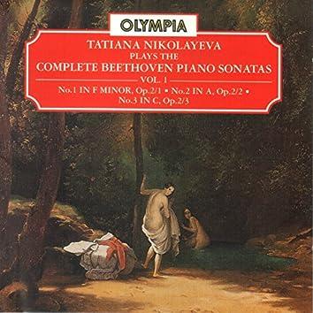 Beethoven: Piano Sonatas Nos. 1 - 3