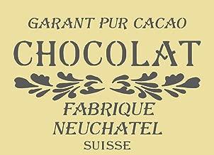 A3 216 A5//A4//A3/shabby chic French Vintage Mylar Pochoir vins /& spiritueux 125//190/Micron r/éutilisables 125 micron