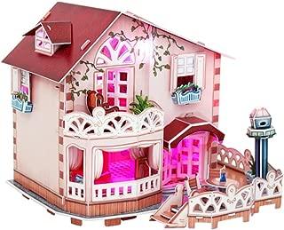 CubicFun 3D Puzzle Holiday Bungalow Dollhouse (P634H)