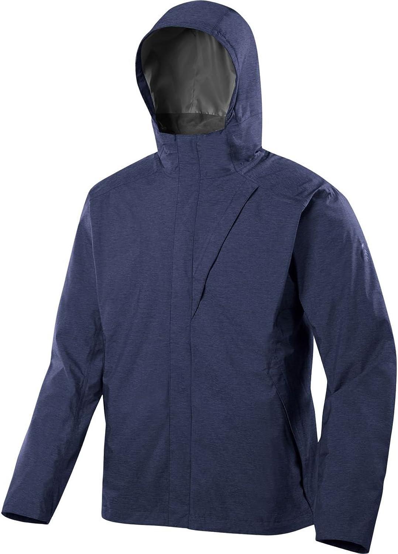 Sierra Designs Hurricane Jacket - Men's Navy Heather, XXL