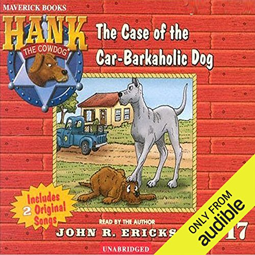 The Case of the Car-Barkaholic Dog cover art