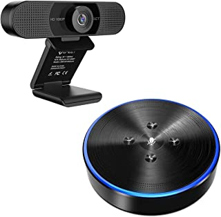 Home Office - C960 1080P HD, Specially Offer for Home Office, Webcam with M1 Bluetooth Speakerphone, Idea for Working at H...