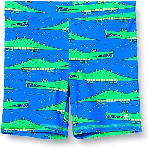 Schiesser Jungen Bade-Shorts Badeshorts, Blau (Royal 819), 98 (Herstellergröße: 098)