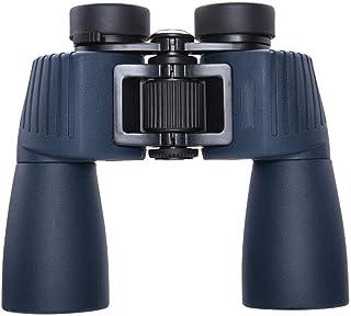 Image of QWQWQW High Power Binoculars 12X50 Waterproof Binoculars Professional Telescope Bak4 Prism Optics Camping Hunting Scopes High Power Binoculars Blue
