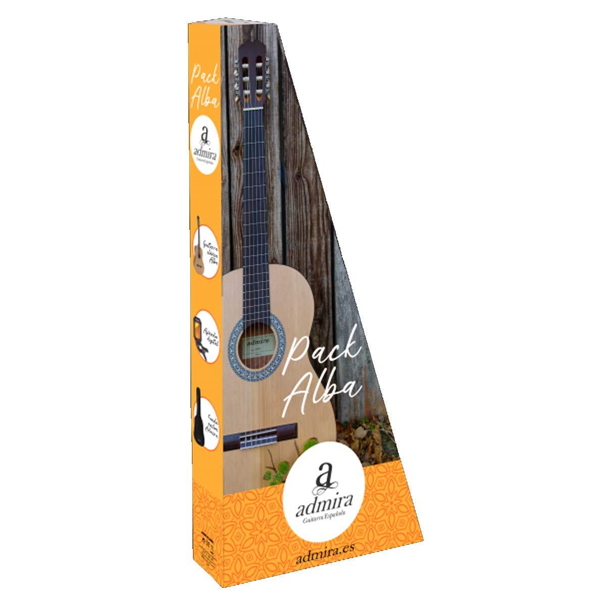 Admira (Alba) Iniciación 4/4 (Pack) guitarra clásica española: Amazon.es: Instrumentos musicales