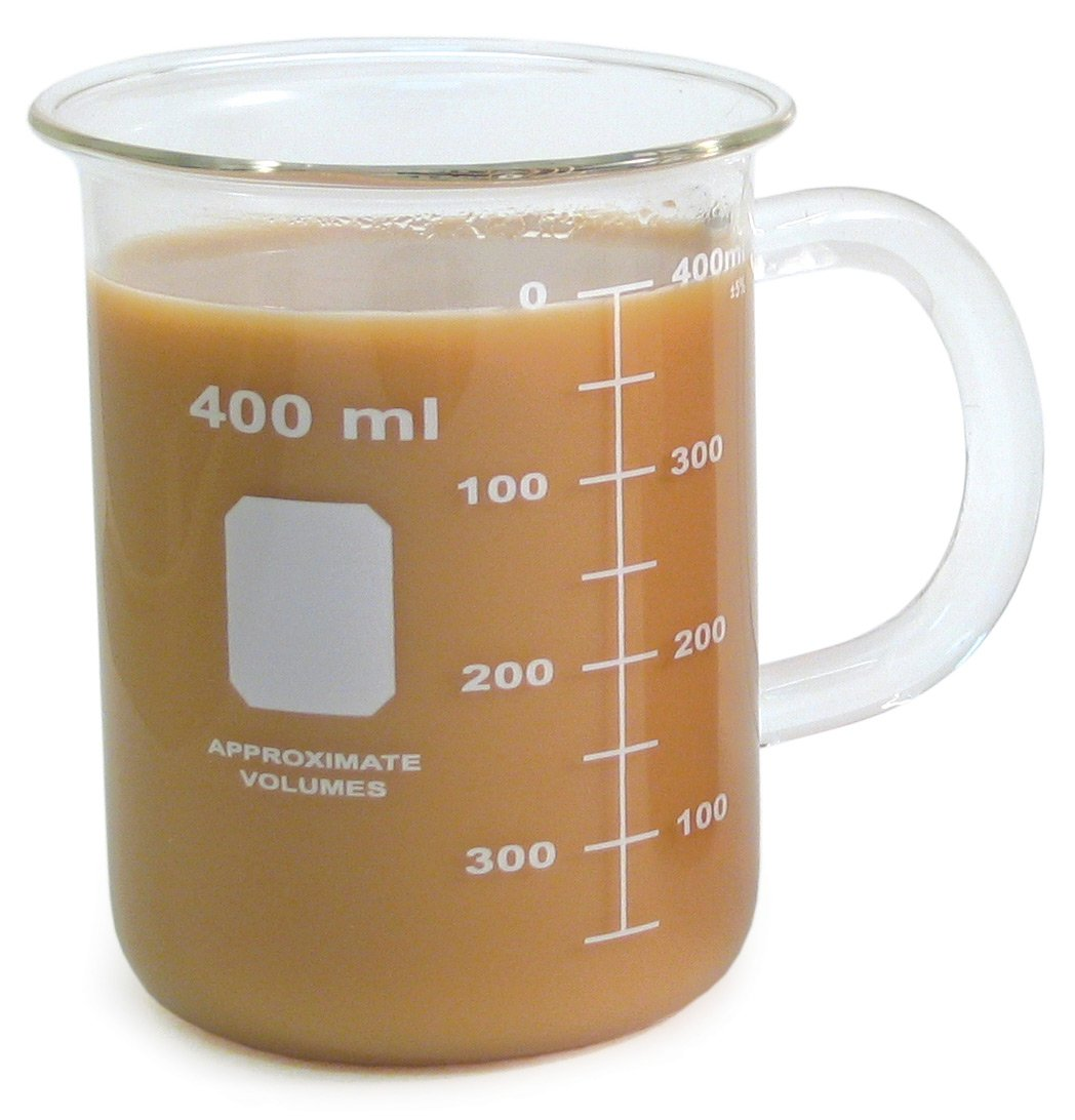 Bargain Beaker Mug 400 mL Milwaukee Mall 6 pkg