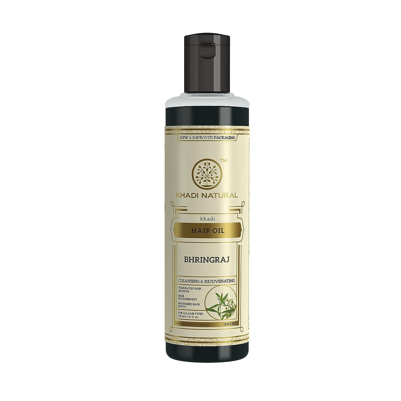 Khadi Natural Bhringraj Special Campaign Herbal 210ml Raleigh Mall Hair Oil -