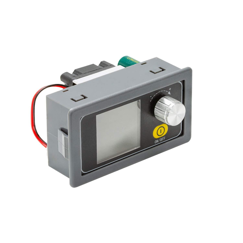 UCTRONICS DC 9V 12V 24V 36V 5A Variable Voltage Power Supply 6-36V to 0.6-36V Adjustable Buck Boost Converter, Portable Bench Constant Voltage Current Stabilized Regulator Module
