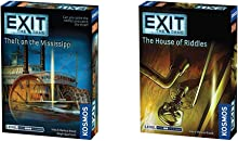 Thames & Kosmos EXIT: Theft on The Mississippi   Escape Room Game in a Box  EXIT: The Game – A Kosmos Game & Exit: The House of Riddles   Exit: The Game - A Kosmos Game from Thames & Kosmos
