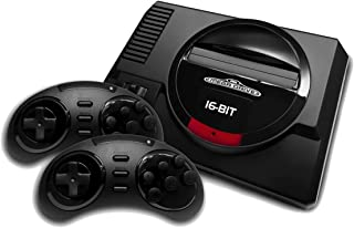 AtGames Sega Genesis Flashback Negro - Videoconsolas (Sega Genesis Flashback, Negro)