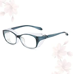 Anti Fog Safety Goggles Blue Light Blocking Glasses for Women Men Anti Scratch Eye Protection,Blue