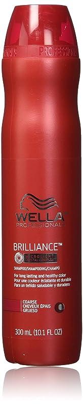 罪悪感備品不正確Wella Brilliance Shampoo for Coarse Hair 300ml/10.1oz 141[並行輸入]