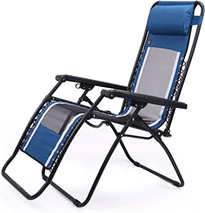 YJchairs Hocker Klappstuhl Recliner Zusammenklappbar Mittagspause Ergonomie Balkon Single Portable Strong Lounge Stuhl Für Beach Home Camping B07FM5DKJN | Won hoch geschätzt und weithin vertraut im in- und Ausland vertraut