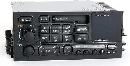 1995-2002 GMC Chevy Truck Van GM Delco Radio AM FM Cassette Player Part 09354155 (Renewed)