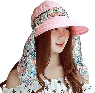 32153577da9d7 Summer Women s Outdoor Beach Sunscreen Cap UV Protection Caps Sun Visor Hat
