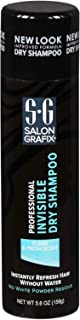 Salon Grafix Professional Invisible Dry Spray Shampoo, Pack of 3 x 5.6 Oz.