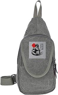 AHISHNF X - Bolsa de Hombro para Hombre y Mujer con diseño de Garras de Logan, Multiusos, Casual, para Senderismo