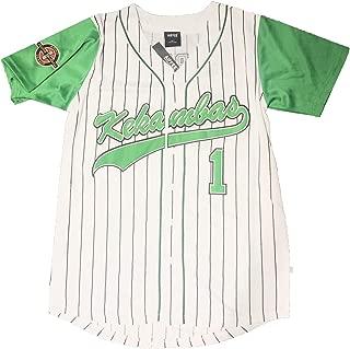 AIFFEE Men's Baseball Jersey #1 Kekambas G-Baby S-XXL White Color