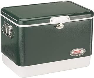 Coleman Steel-Belted Portable Cooler, 54 Quart (Renewed)