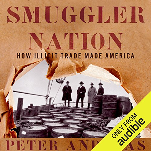 Smuggler Nation audiobook cover art
