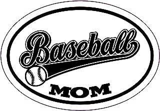 WickedGoodz Baseball Mom Decal - Youth Sports Bumper Sticker - Baseball Mom or Coach Gift
